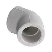 Отвод 45° для полипропиленовых труб