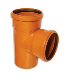 Тройник для наружной канализации